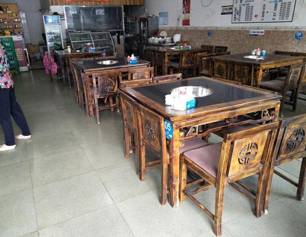 二手火锅桌椅销售