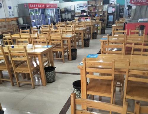 江安二手快餐店桌椅回收