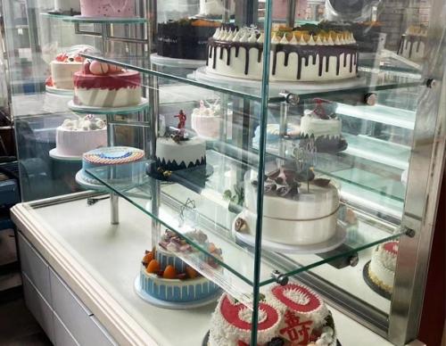 二手蛋糕展示柜