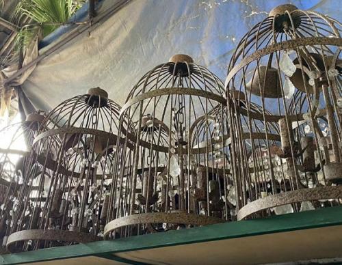 复古工业风鸟笼